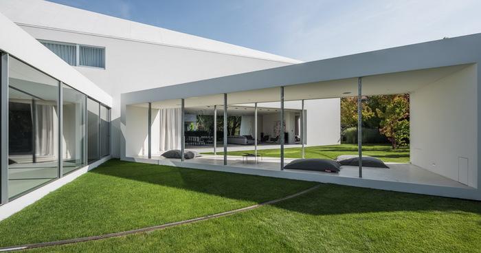 «Покатаемся по травке» – движущаяся веранда в «доме-квадранте» Архитектура, Квадрант, Польша, Жилой дом, Длиннопост
