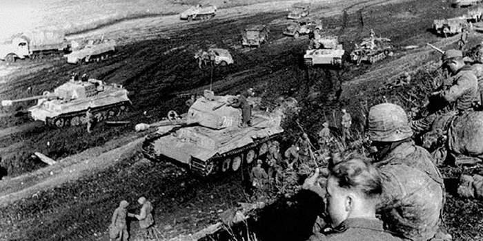 Советская пехота держит удар: как растерялись «тигры» Длиннопост, История, Война, СССР, Германия, Танки