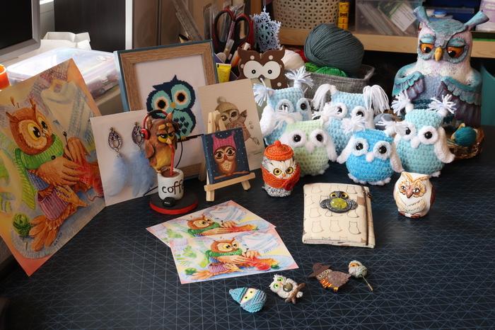Моя совиная коллекция от Пикабушников Пикабу, Сова, Коллекция, Коллекционирование, Коллекция сов, Длиннопост