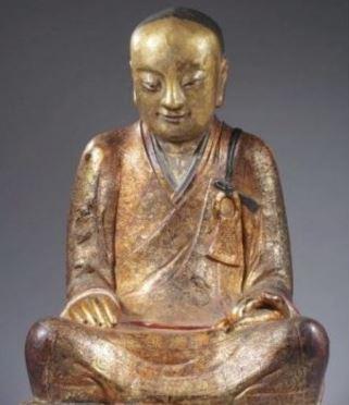 Само-мумификация внутри статуи Будды Будда, Китай, Монах, Буддийские монахи, Статуя