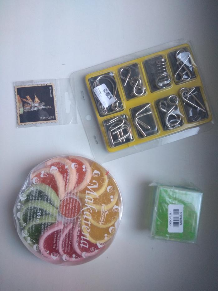 Обмен головоломками Москва - Майкоп. Отчет по обмену подарками, Подарок, Тайный Санта, Посылка