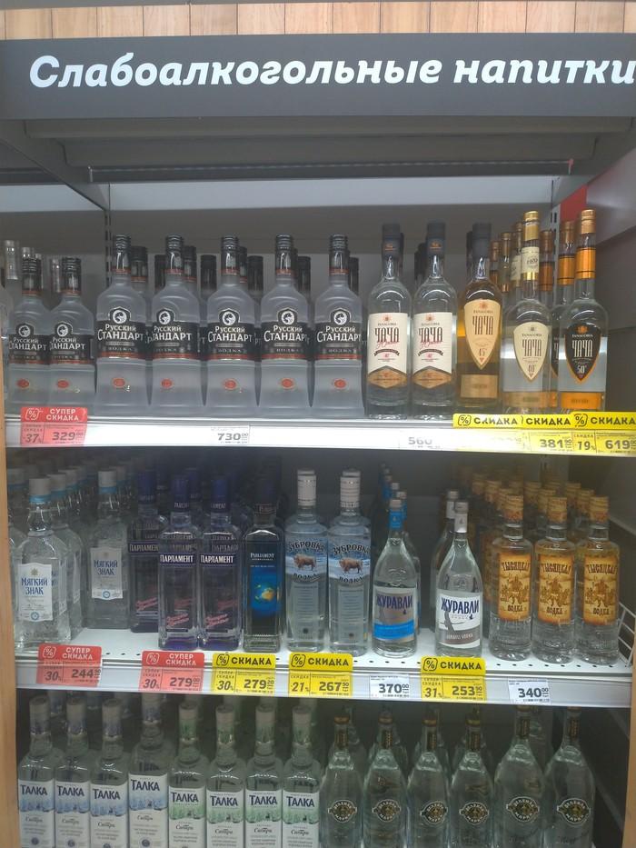 Слабоалкогольные напитки Магазин, Алкоголь