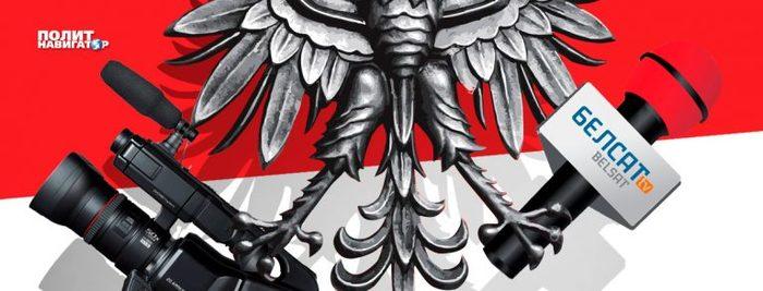 Крокодиловы слезы польской пропаганды Политика, Беларусь, Длиннопост, Оппозиция, Белсат, Польша, Нко