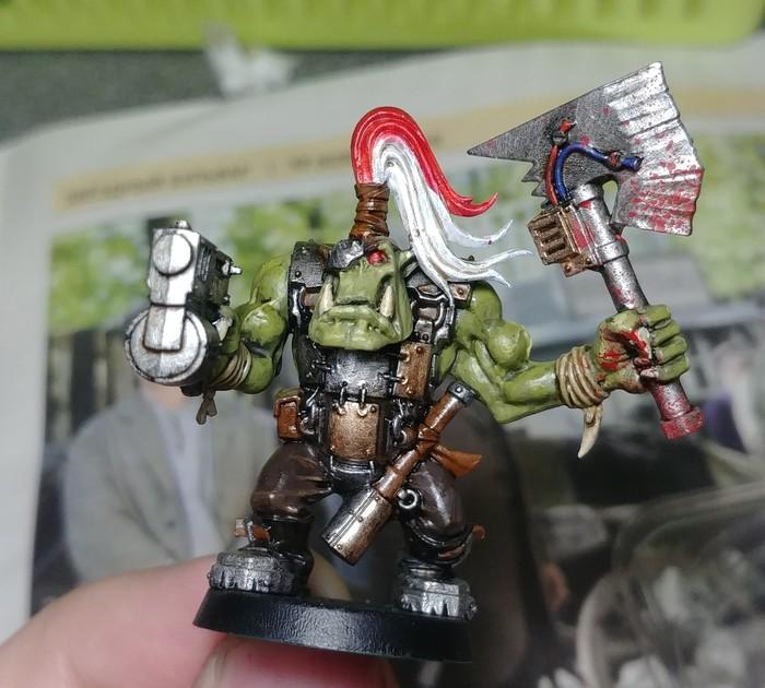 WAAAAGH!!! Товарищи! Покраска миниатюр, Орки, Warhammer 40k, Длиннопост