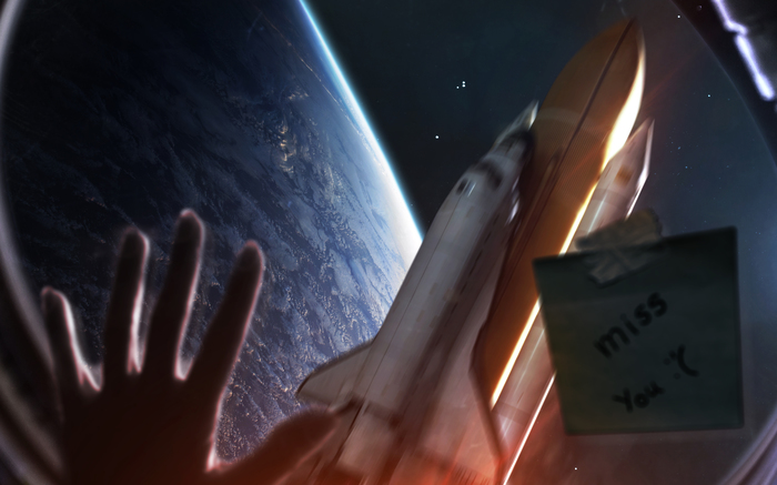 Расставание Космос, Любовь, Общество, Путешествия, Планета