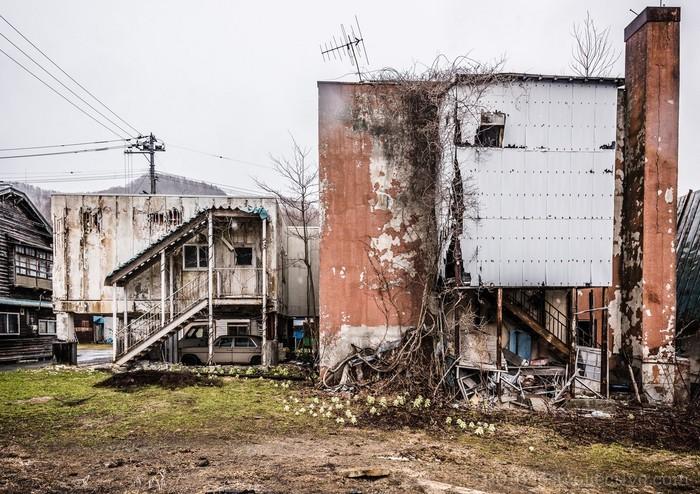 Заброшенная больница на севере Японии Заброшенное, Япония, Хоккайдо, Длиннопост, Silent Hill