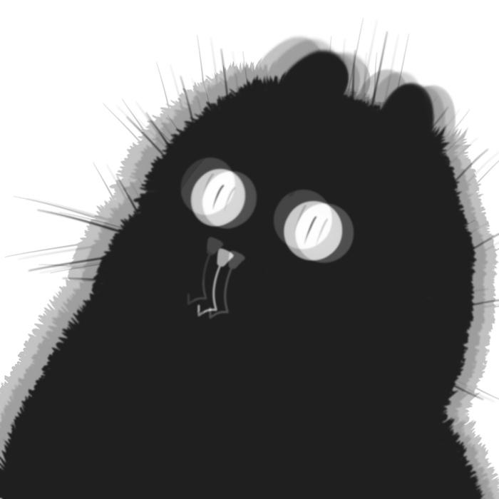 Ароматные платочки Кот, Платочки носовые, Комиксы, Запах, Насморк, Клубника