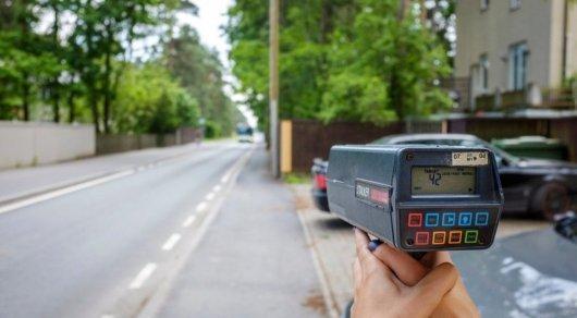 Полицейским запретят переносные радары в населенных пунктах Казахстан, Рай