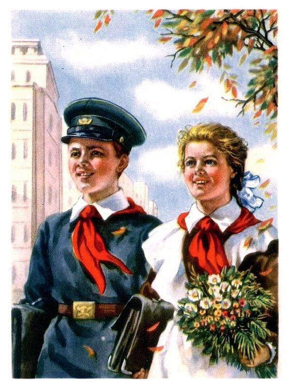 По волнам нашей памяти! Советская школьная форма Длиннопост, СССР, Как раньше было, Школьная форма, Ретроспектива, Старое фото, Ностальгия, Ретро, Пионеры