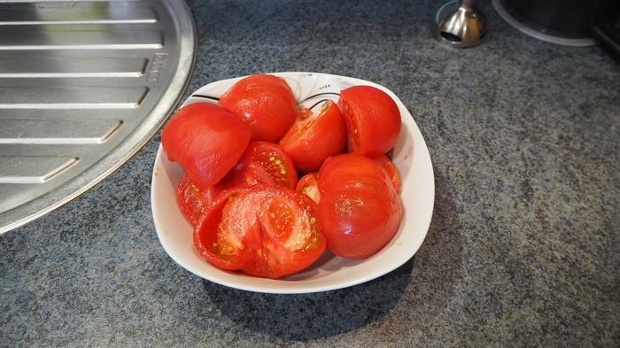 Приготовим томатную пасту для пиццы Помидор, Соус, Базилик, Орегано, Томатная паста, Приготовление, Соус для пиццы, Длиннопост, Кулинария