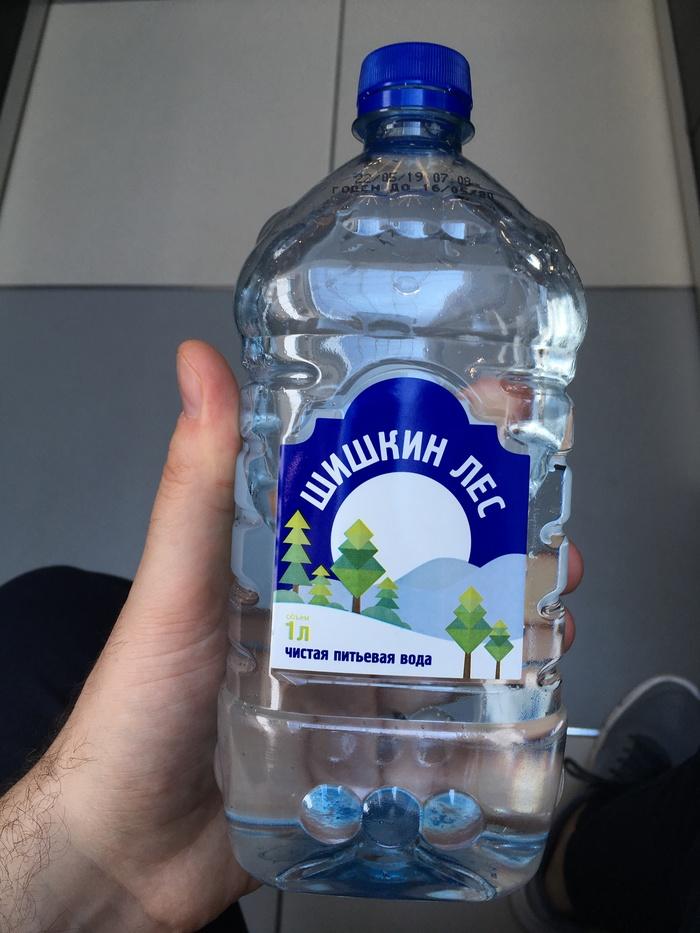 Вода из магазина Вода, Шишкин лес, Некачественный товар