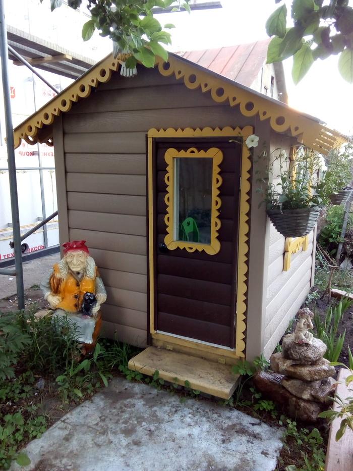 Детский домик. Детский домик, Игрушки, Баба-Яга, Цветы, Рукоделие без процесса, Длиннопост