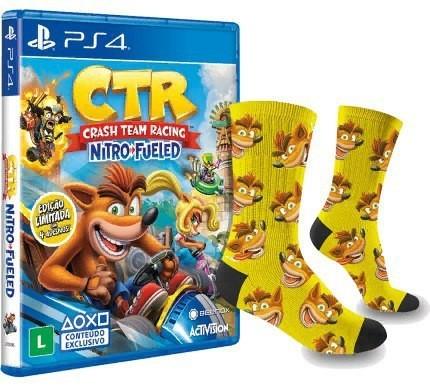 Геймерские носки Игры, Crash Team racing