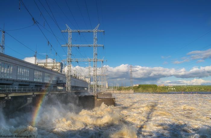 Вода! ГЭС, Пермь, Кама, Река, Красота, Фотография, Пейзаж, Городские пейзажи