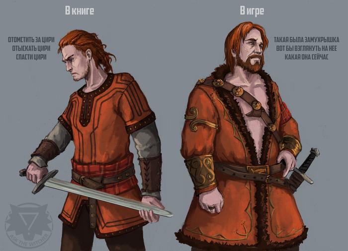 Хьялмар ан Крайт Ведьмак, The Witcher 3:Wild Hunt, Хьялмар, Скеллиге, Скетч
