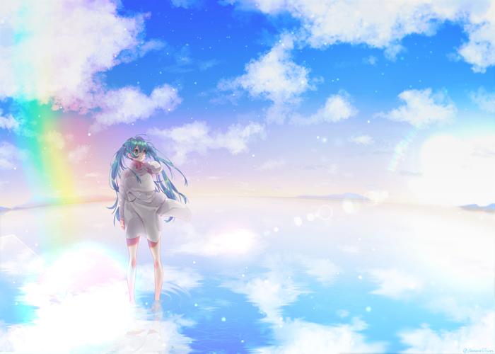 Аниме арты Аниме, Anime Art, Touhou, Hatsune Miku, Virtual YouTuber, Pixiv, Длиннопост
