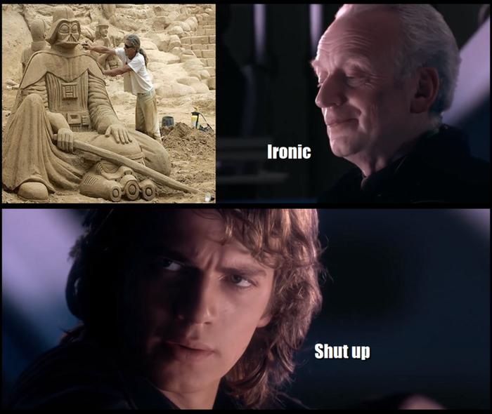 Песок... Он проникает повсюду.