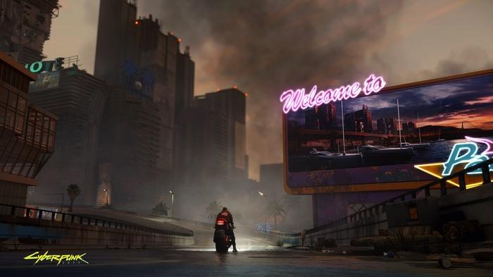 На стенде Cyberpunk 2077 разработчики поделились с журналистами новыми геймплейными скриншотами. Cyberpunk 2077, E3, Компьютерные игры, Nvidia RTX, Длиннопост