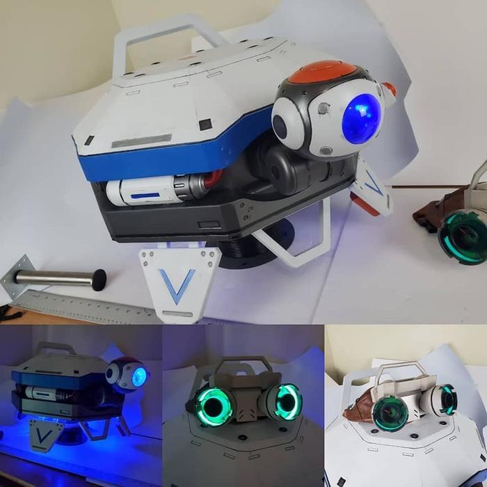 Lifeline из apex Apex Legends, 3D печать, Косплей, Длиннопост