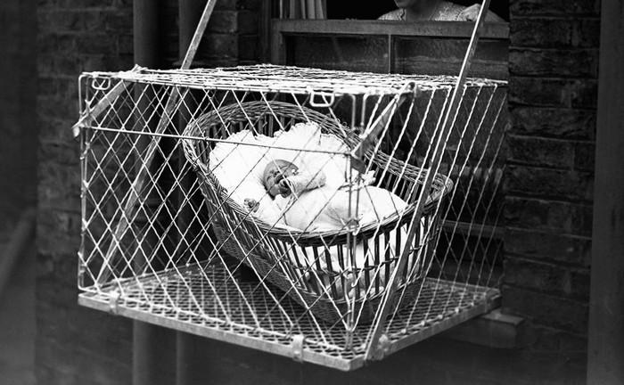Клетки для детей | Как заботились о здоровье детей в прошлом веке. Туберкулез, История, Факты, История медицины, История изобретений, Изобретения, Видео, Длиннопост