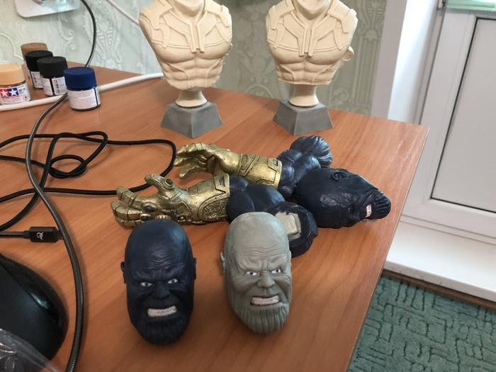 Здравствуйте! Я занимаюсь лепкой. Созданием скульптур по мотивам различных игр, комиксов, фэнтази и и.д. Лепка, Скульптор, Скульптура, Творчество, Искусство, Marvel, Ручная работа, Длиннопост, DC