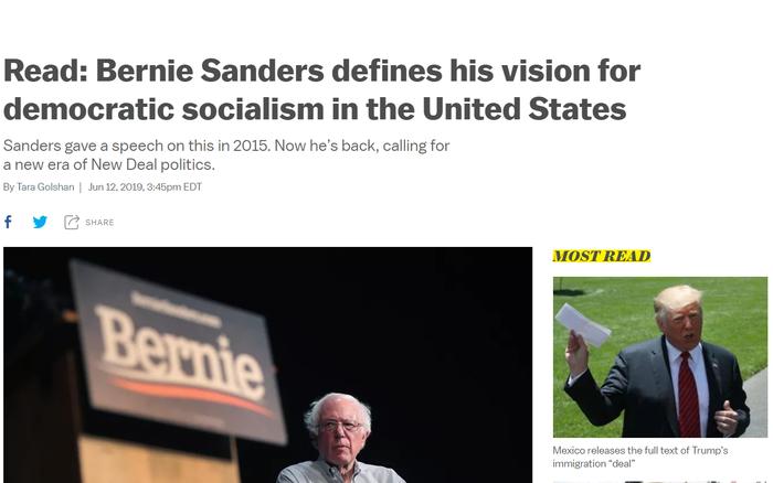 FOX News: Берни Сандерс плагиатит Сталина США, Политика, Выборы, По заветам, Сталин, Видео, Длиннопост