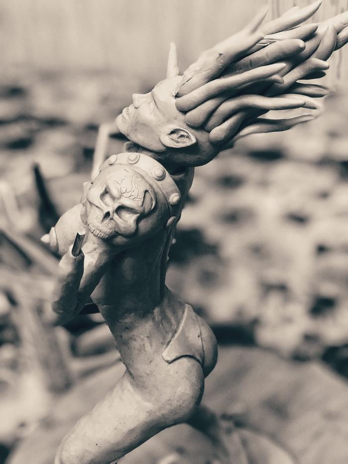 Всем привет! Я вдохновлён созданием скульптур по мотивам игр, комиксов, фэнтази и и.д. Скульптура, Ручная работа, Marvel, Лепка, Рукоделие, Комиксы, Искусство, Творчество, Длиннопост