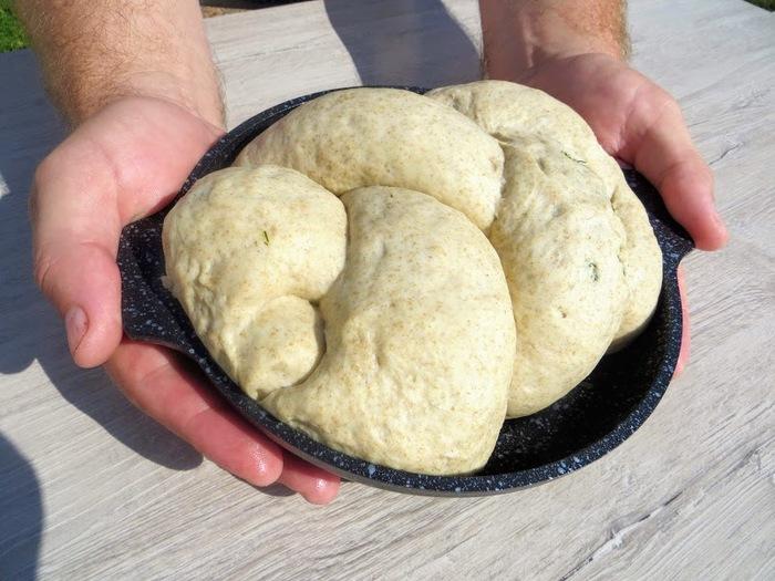 Дачный хлеб - всегда удачный! Еда, Хлеб, Выпечка, Дрожжевое тесто, Рецепт, Другая кухня, Приготовление, Видео, Длиннопост