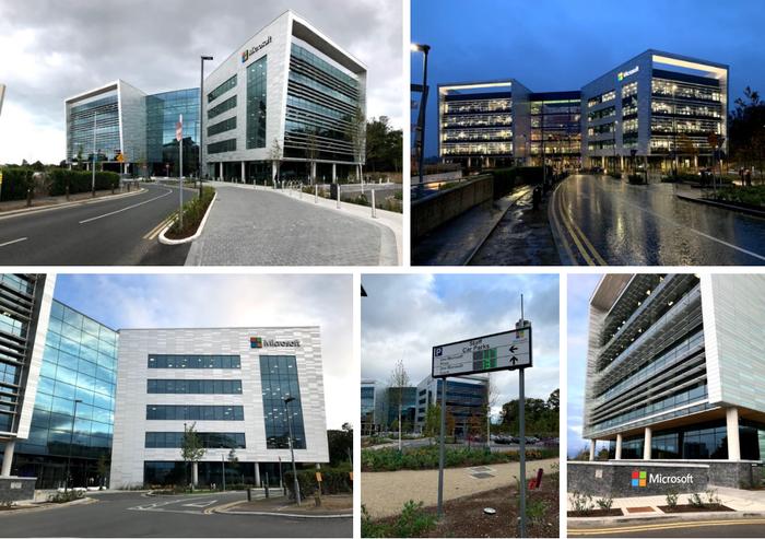 Экскурсия по офису Microsoft Ireland Работа, Офис, Microsoft, Ирландия, Дублин, Офисы Компаний, Экскурсия, Длиннопост