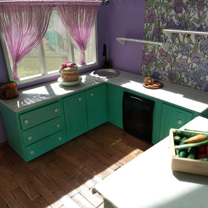 Детская мечта своими руками Полимерная глина, Кукольный дом, Румбокс, Рукоделие с процессом, Миниатюра, Длиннопост