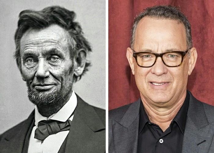 Том Хэнкс — потомок Авраама Линкольна Познавательно, Интересное, Актеры, Фильмы, История, Том Хэнкс, Авраам Линкольн