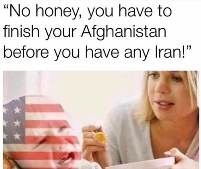 Америка самокритично... США, Иран, Афганистан, Политика
