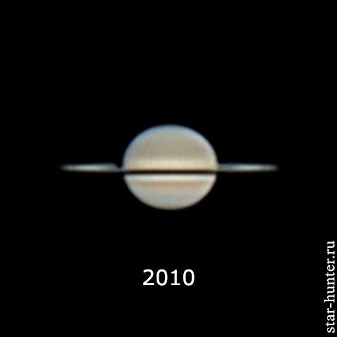Изменение наклона колец Сатурна за 7 лет Сатурн, Планета, Астрофото, Астрономия, Космос, Starhunter, Анападвор, Гифка