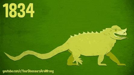 Как палеонтологи в течении двух столетий меняли представление об игуанодоне