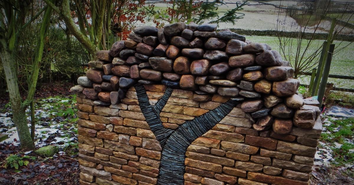 объявления поделки для двора из камня фото одна
