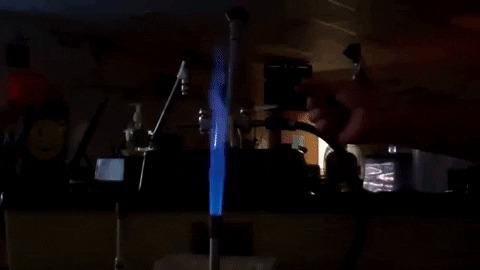 Стронций в гифках Химия, Лига химиков, Гифка, Эксперимент, Химические элементы, Длиннопост