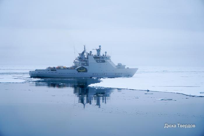 Как Норвегия северный полюс покорила Фотография, Северный Полюс, Ледокол, Атомный ледокол, Длиннопост