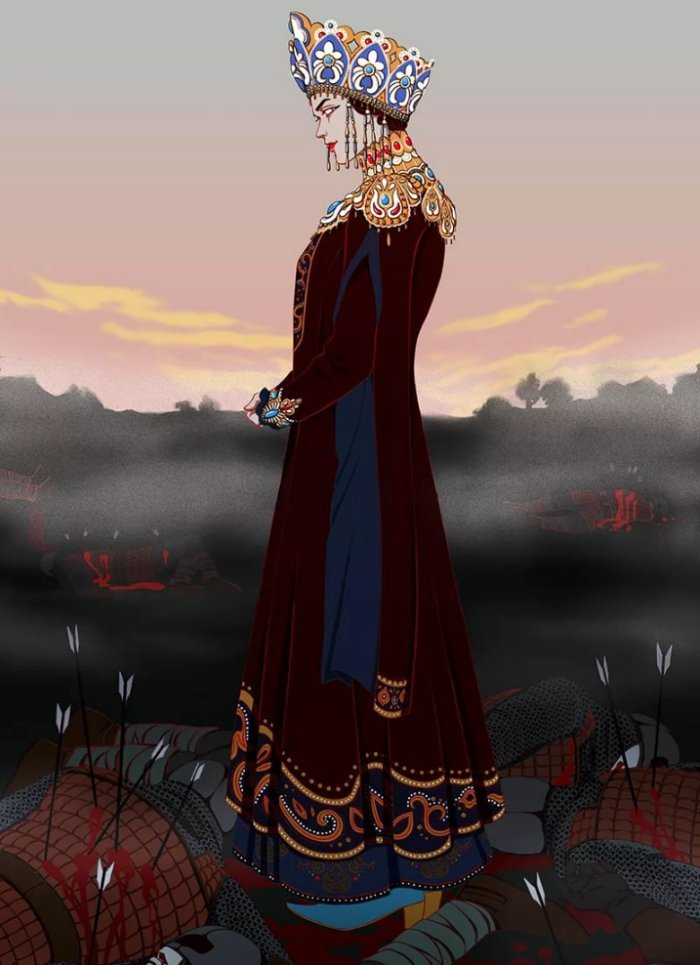 Почему дочь Бабы Яги зовут Марья Моревна? Сказка, Длиннопост, Познавательно, Смерть, Дочь, Неведомая хрень, Интересное
