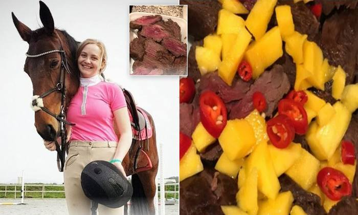 Спортсменка съела свою лошадь Кухня, Лошади, Длиннопост