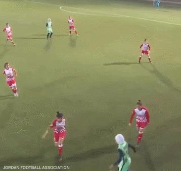 Спортивное уважение Женский футбол, Хиджаб, Уважение, Гифка