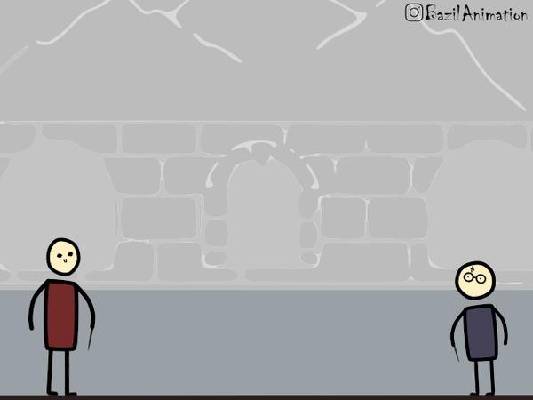 Как должен был закончиться Гарри Поттер Анимация, Гарри Поттер, Гифка