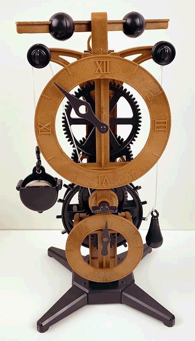 Модель часов Леонардо Да Винчи