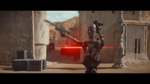 Прекрасное из Мандалорца Гифка, Терминатор, Убить всех человеков, Star Wars, Мандалорец, Дроиды