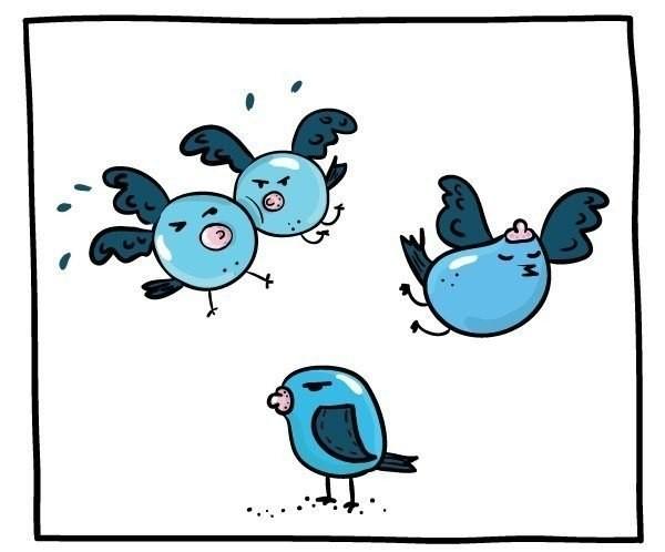 К посту про синиц Птицы, Картинка с текстом
