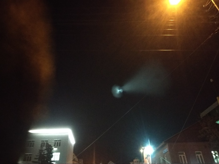 Надеюсь это была просто ракета, а не портал в другое измерение Уфа, Неведомая хрень, Длиннопост