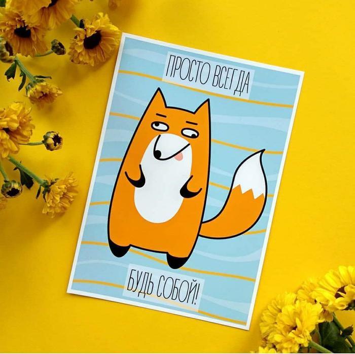 Открытки #9 Открытка, Кот, Иллюстрации, Длиннопост