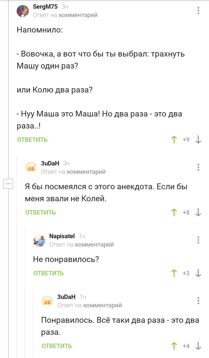 Коля, Коля, Николай Анекдот, Скриншот