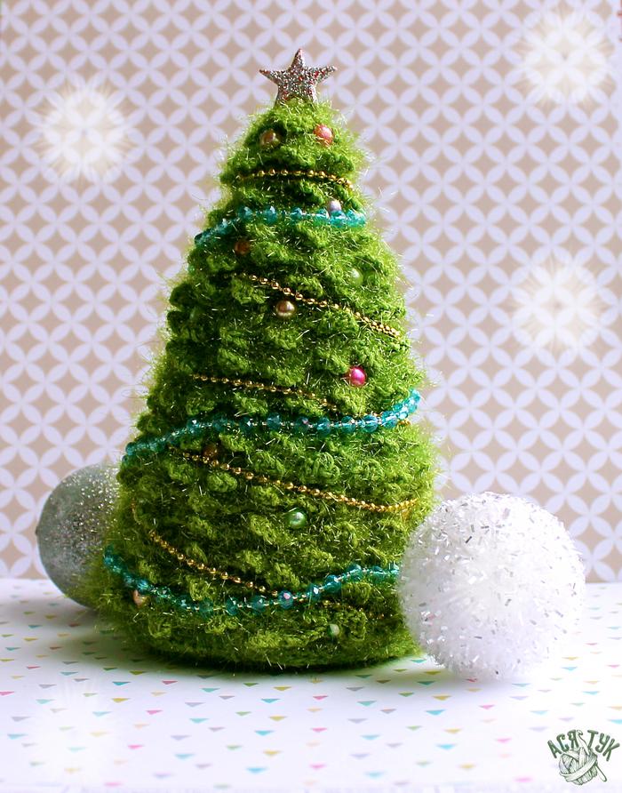 Новогодние игрушки Амигуруми, Рукоделие без процесса, Длиннопост, Ёлки, Новогодняя елка, Заяц