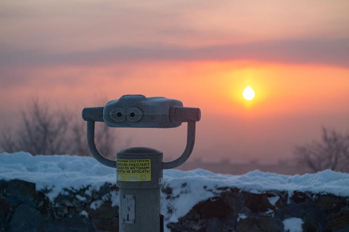 Восход Фотография, Солнце, Восход, Бинокль