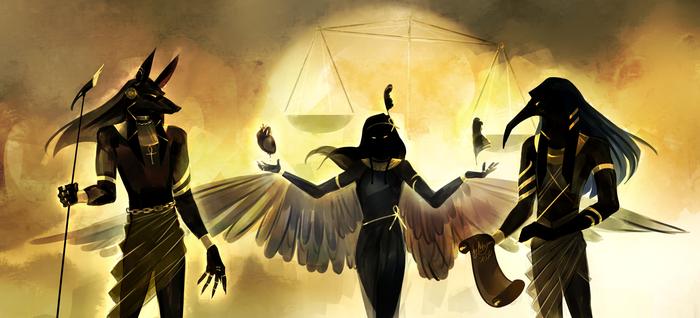 Кому египетскую мифологию? Арт, Рисунок, Цифровой рисунок, Мифология, Египетская мифология, Длиннопост